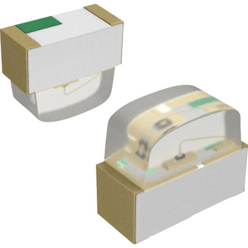 SMD-LED (value.1317393) Dialight 597-2603-507F 0605 140 mcd 140 ° Blå