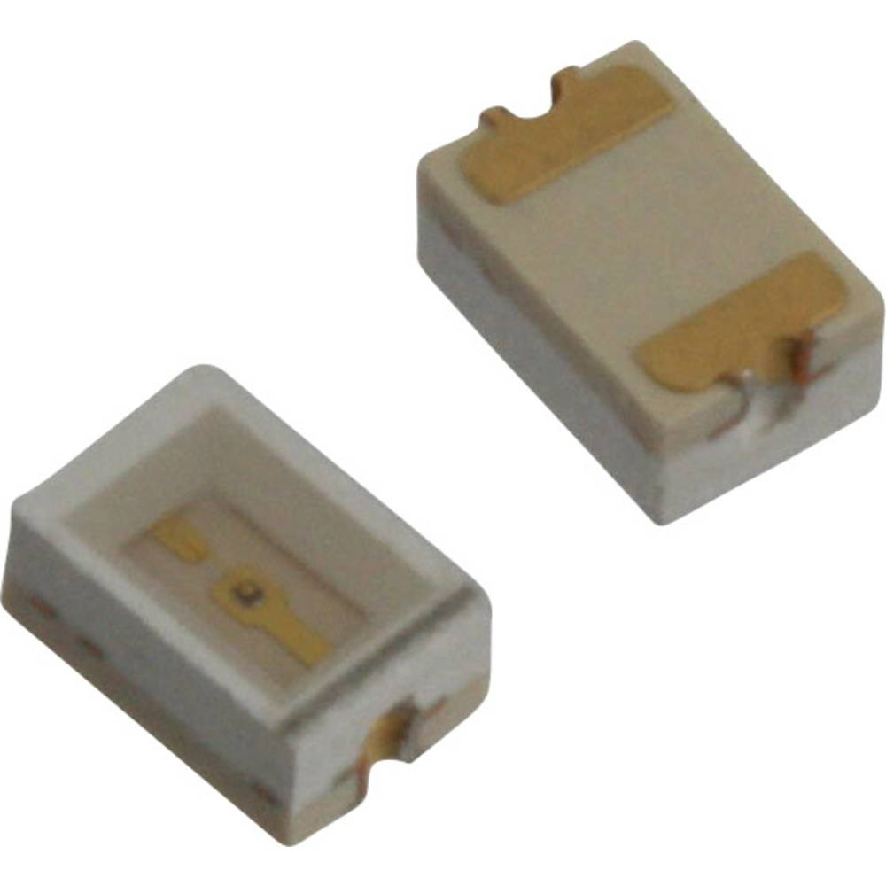 SMD-LED (value.1317393) Dialight 597-3002-507F 3020 63 mcd 110 ° Rød