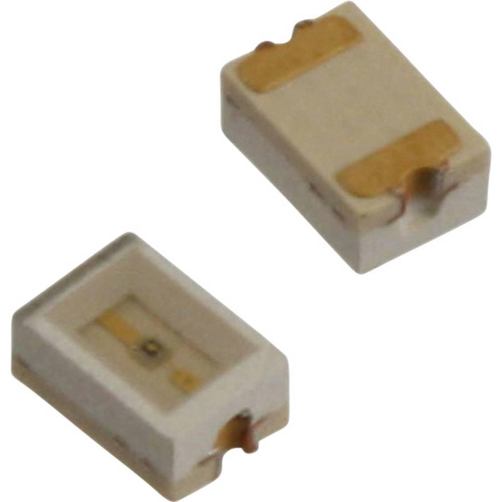 SMD LED Dialight 597-3111-507F 3020 16 mcd 110 ° Rød