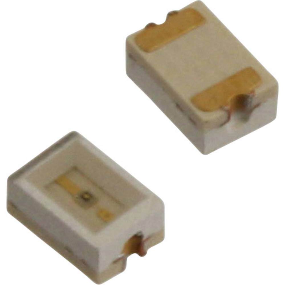 SMD LED Dialight 597-3401-507F 3020 6.3 mcd 110 ° Gul