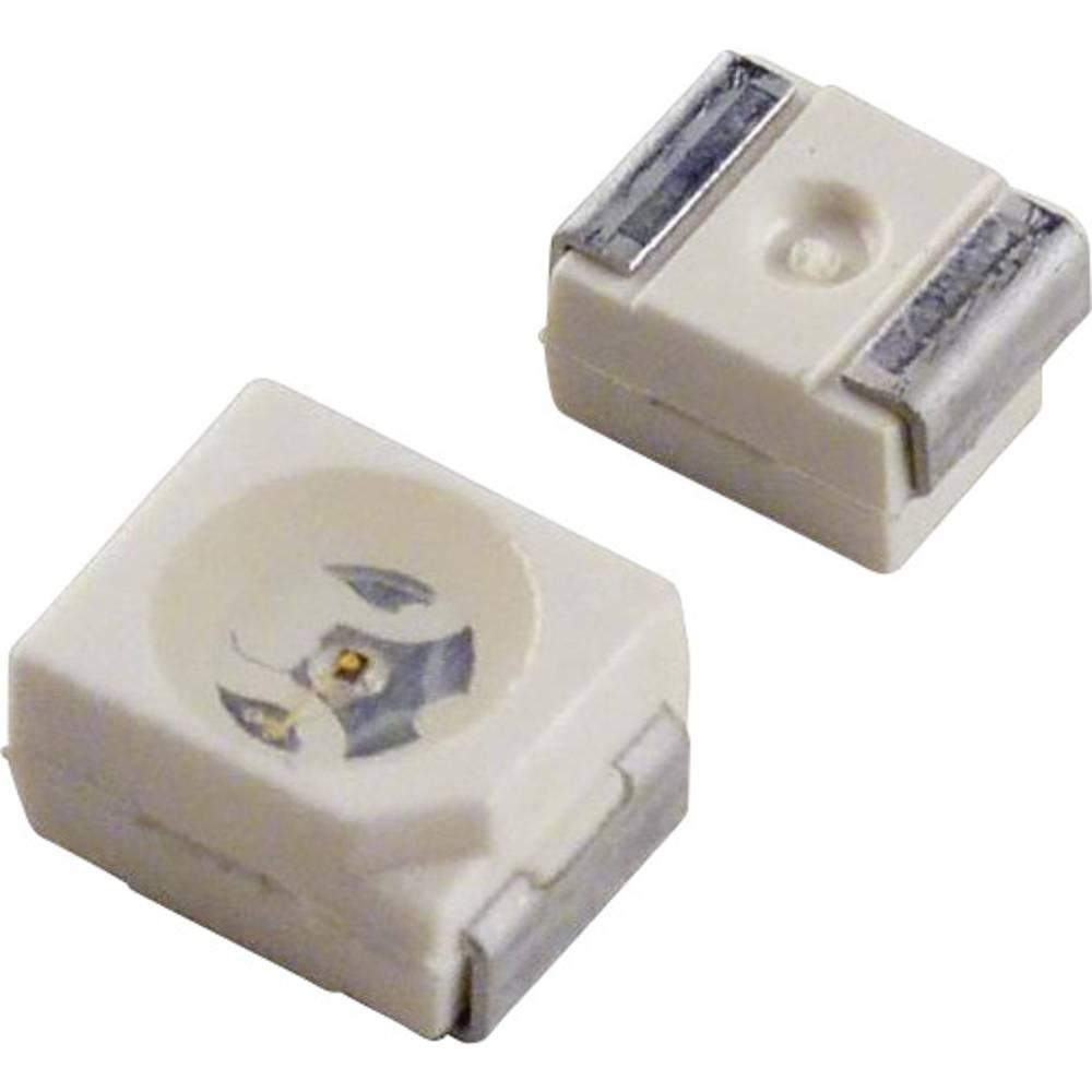 SMD-LED (value.1317393) Dialight 597-3308-207F PLCC2 6.28 mcd 120 ° Grøn