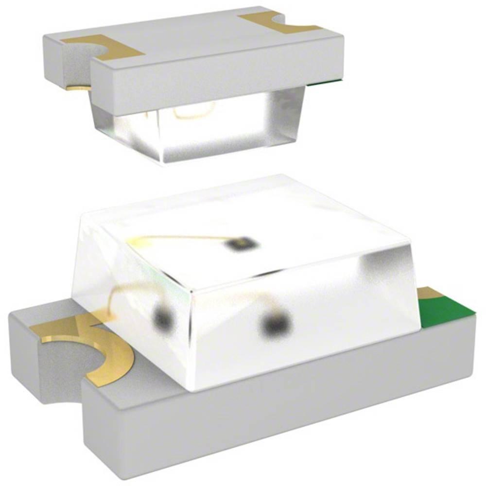 SMD-LED (value.1317393) Dialight 597-5111 -402F 2012 11.7 mcd 150 ° Rød