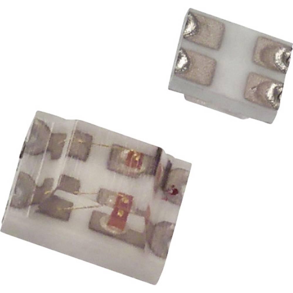 SMD LED Dialight 597-7701 -102F SMD-4 12 mcd, 4 mcd 170 ° Grøn, Rød