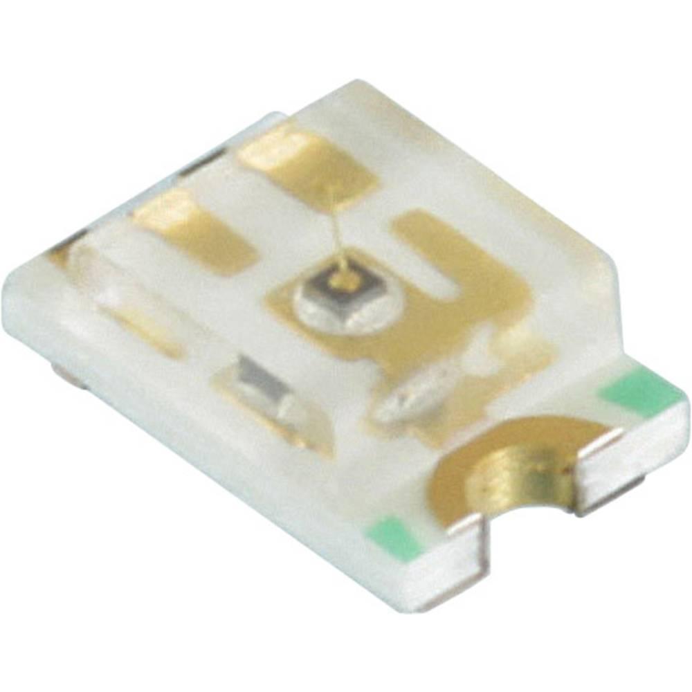 SMD LED Dialight 598-8191 -102F 2012 140 mcd 140 ° Blå