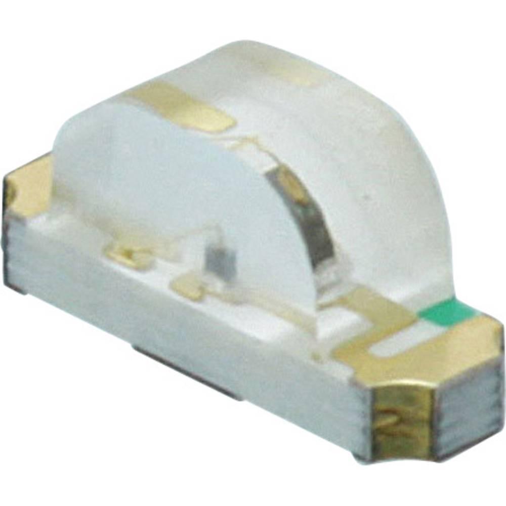 SMD LED Dialight 597-2723 -607F 1208 35 mcd, 30 mcd 130 ° Grøn, Gul