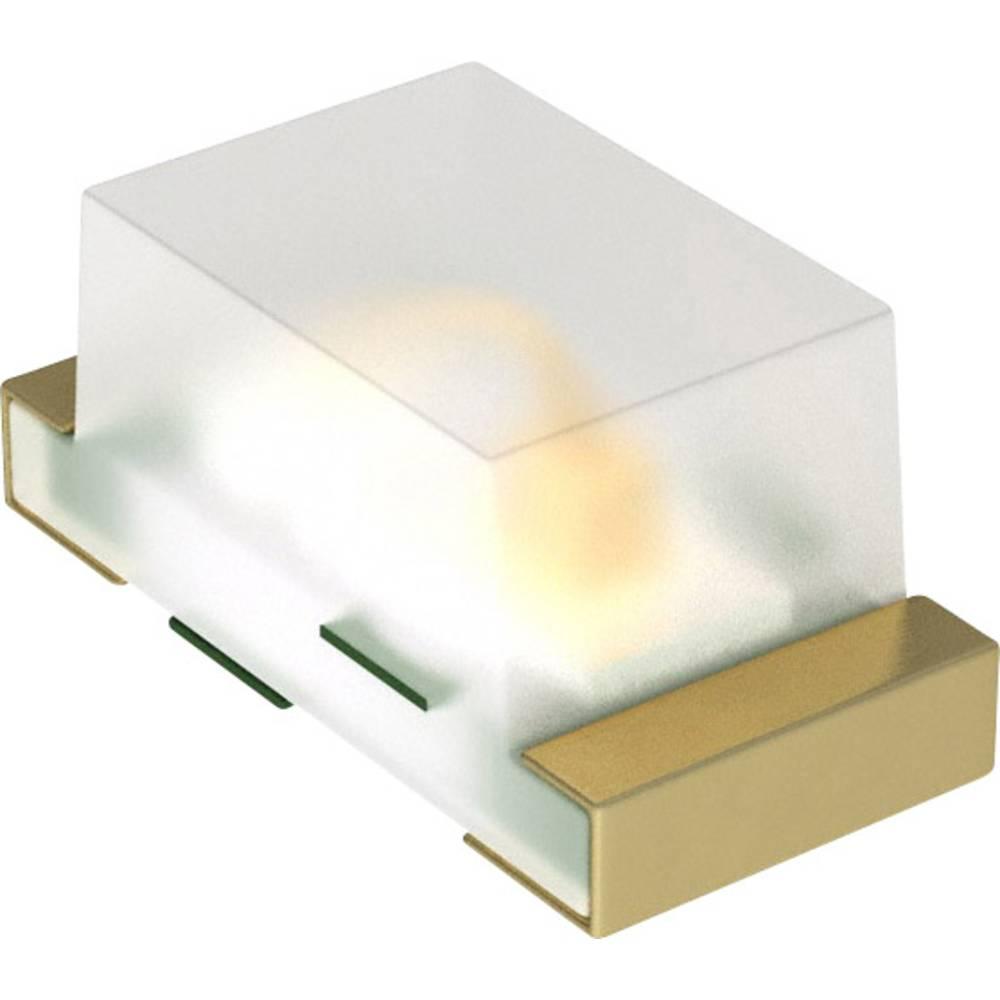 SMD LED Dialight 597-5004 -407F 1608 50 mcd 152 ° Rød