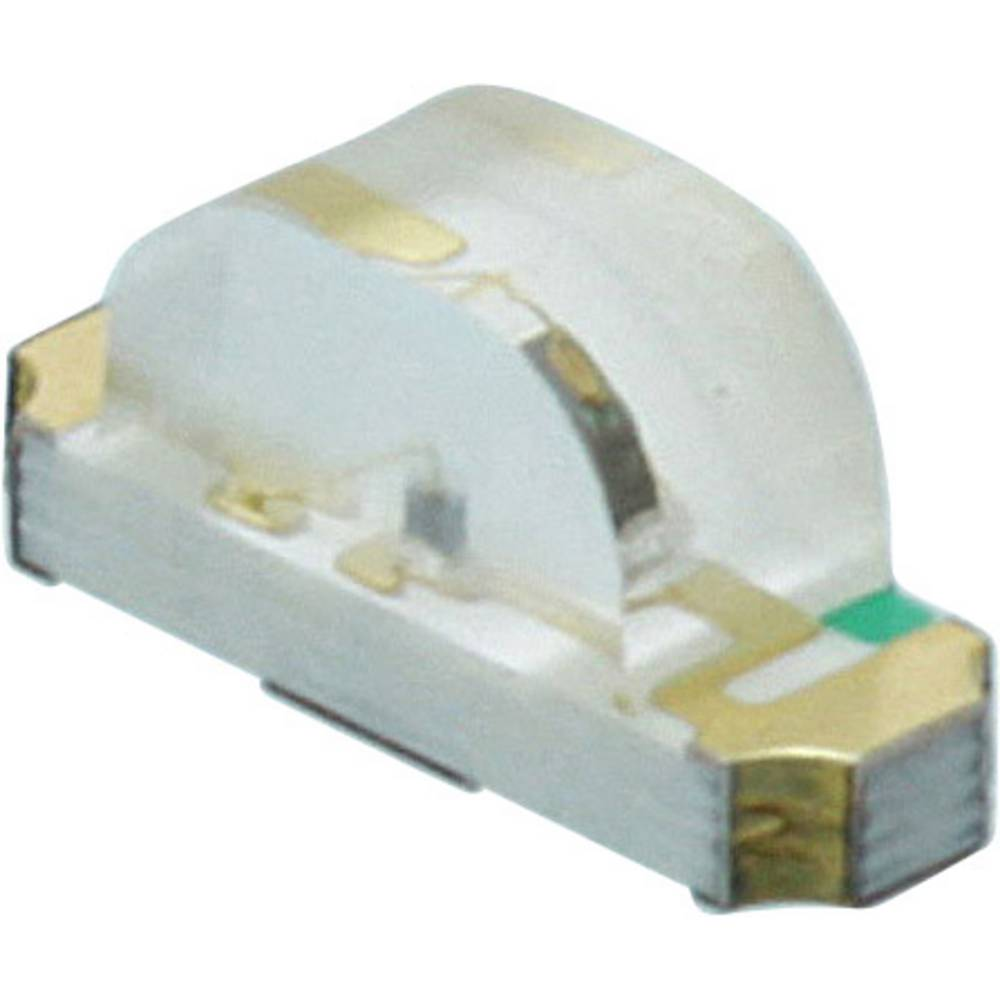 SMD LED Dialight 598-8350 -117F 1208 140 mcd 160 ° Gul