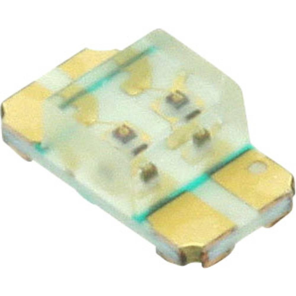 SMD-LED (value.1317393) Dialight 597-7783 -602F 3216 45 mcd, 45 mcd 130 ° Blå , Rød