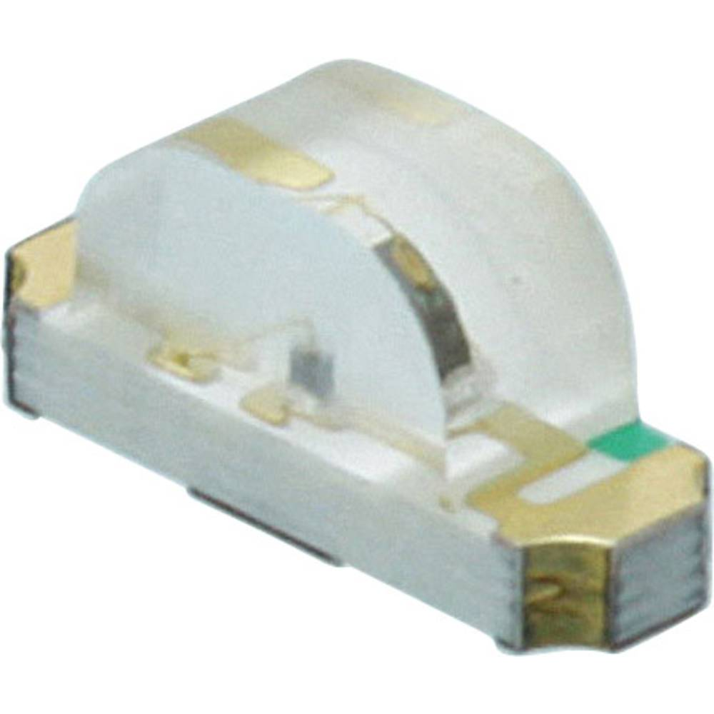 SMD-LED (value.1317393) Dialight 597-2413 -402F 1208 8.8 mcd 130 ° Gul