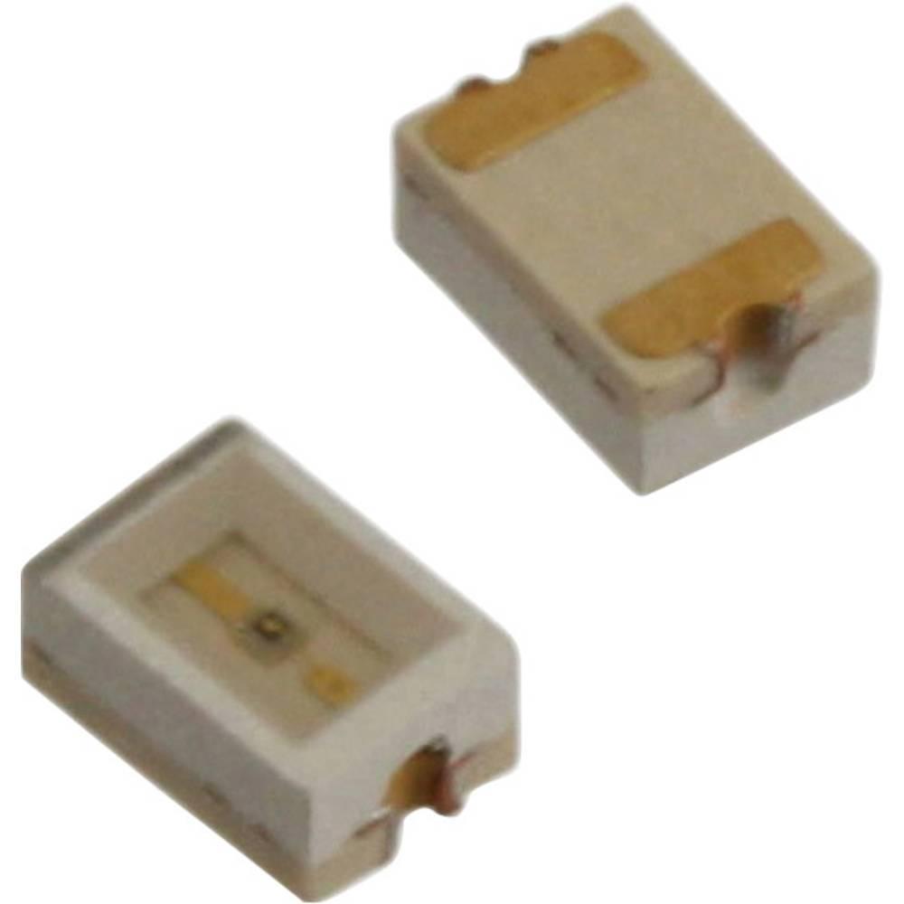 SMD LED Dialight 597-3032 -502F 3020 100 mcd 110 ° Rød