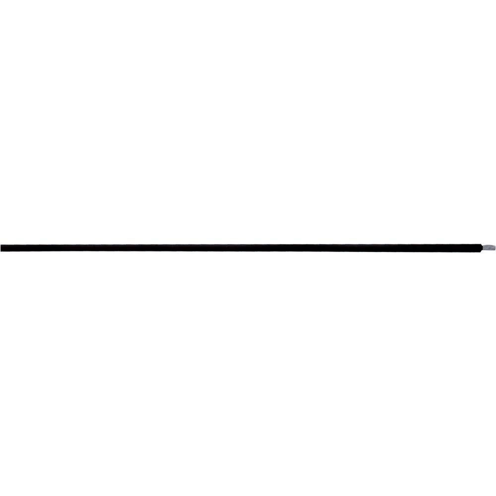 Visokotemperaturni vodič ÖLFLEX® HEAT 205 SC 1 x 2.50 mm crne boje LappKabel 0086001 roba na metre