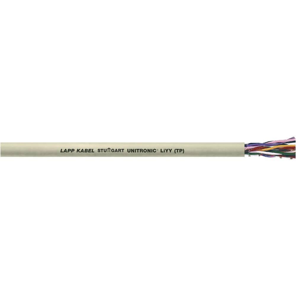Podatkovni kabel UNITRONIC® LiYY (TP) 10 x 2 x 0.14 mm sive barve LappKabel 0035108 100 m
