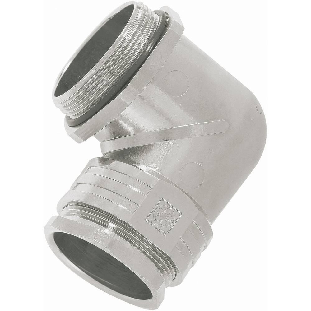Kabelska uvodnica, kotna M25 medenina srebrne barve LappKabel SKINDICHT® RWV-M25 x 1.5 1 kos