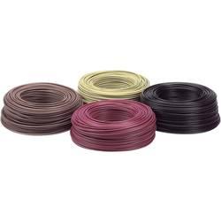 Flätad kabel H07V-K 1 x 6 mm² Gröngul LappKabel 4520004 Metervara