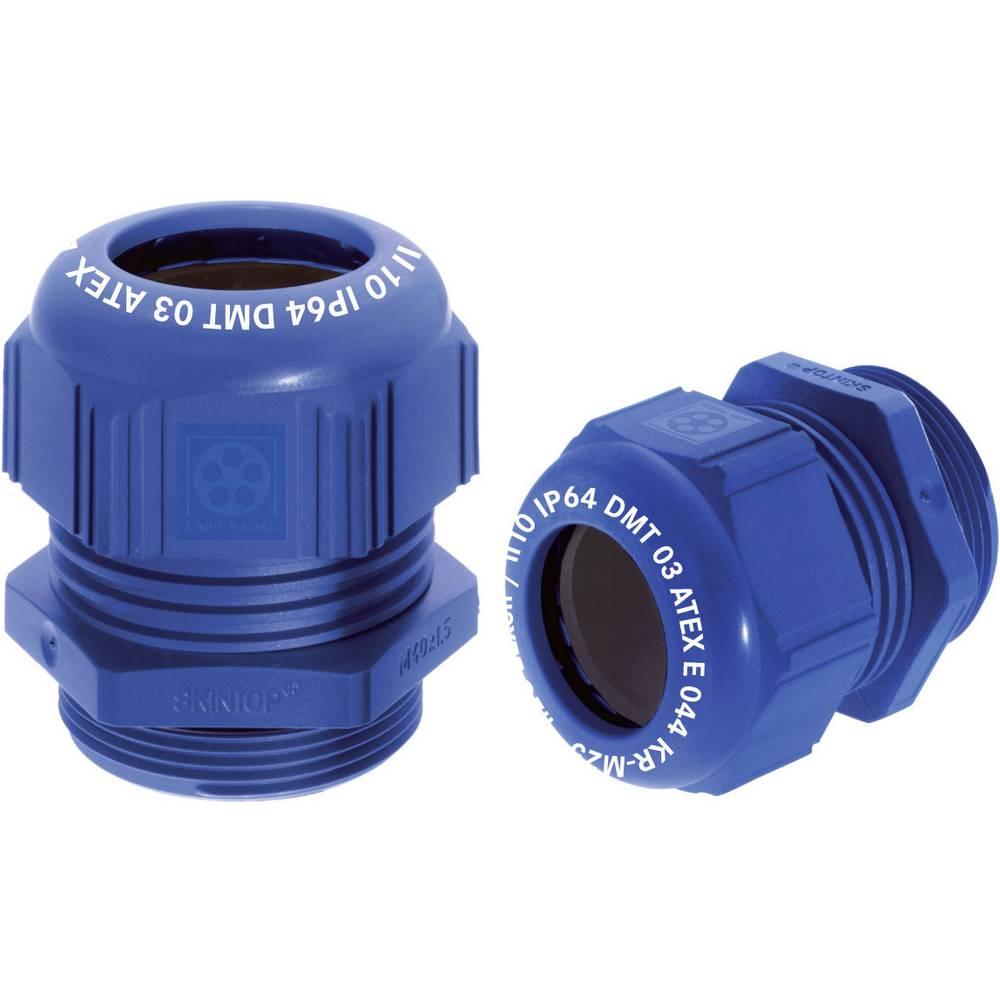 Kabelforskruning LappKabel SKINTOP® K-M EEXE II ATEX M16 Polyamid Blå (RAL 5015) 1 stk