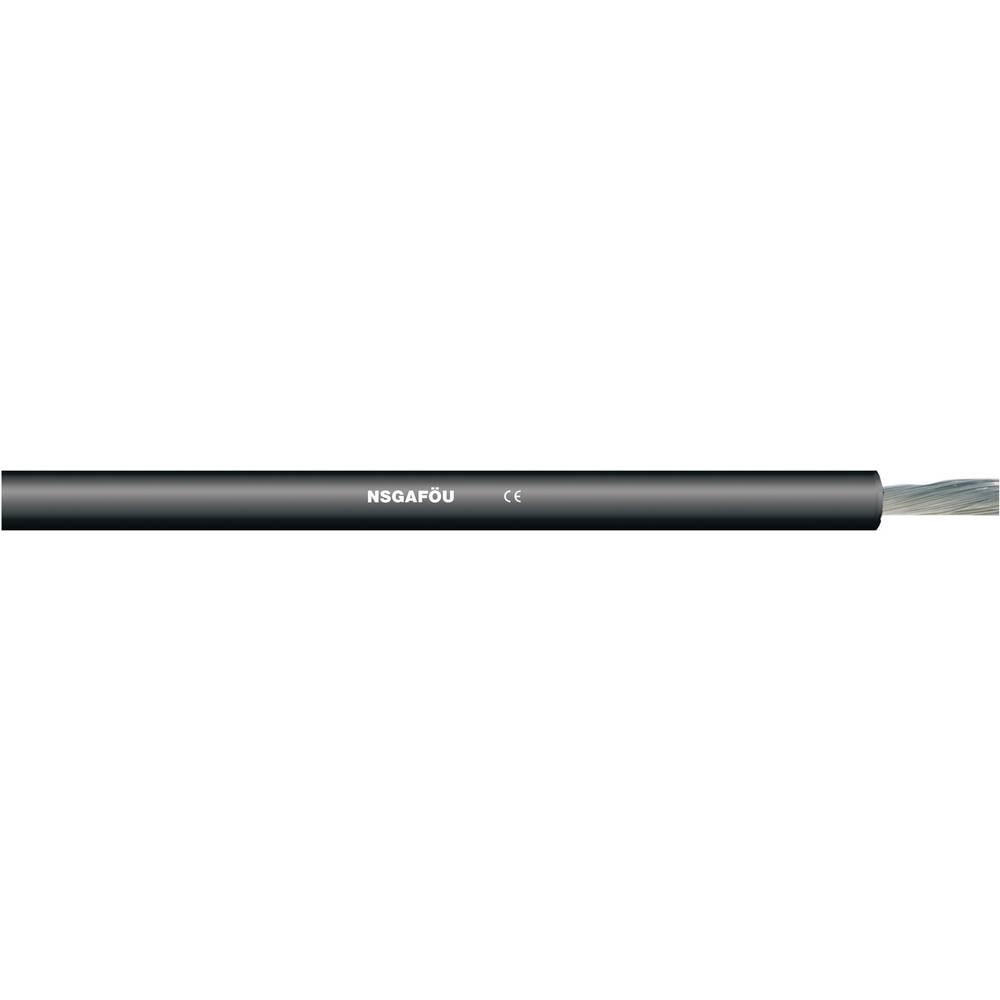 Gumeni kabel NSGAFÖU 1 x 25 mm crne boje LappKabel 1600306 roba na metre