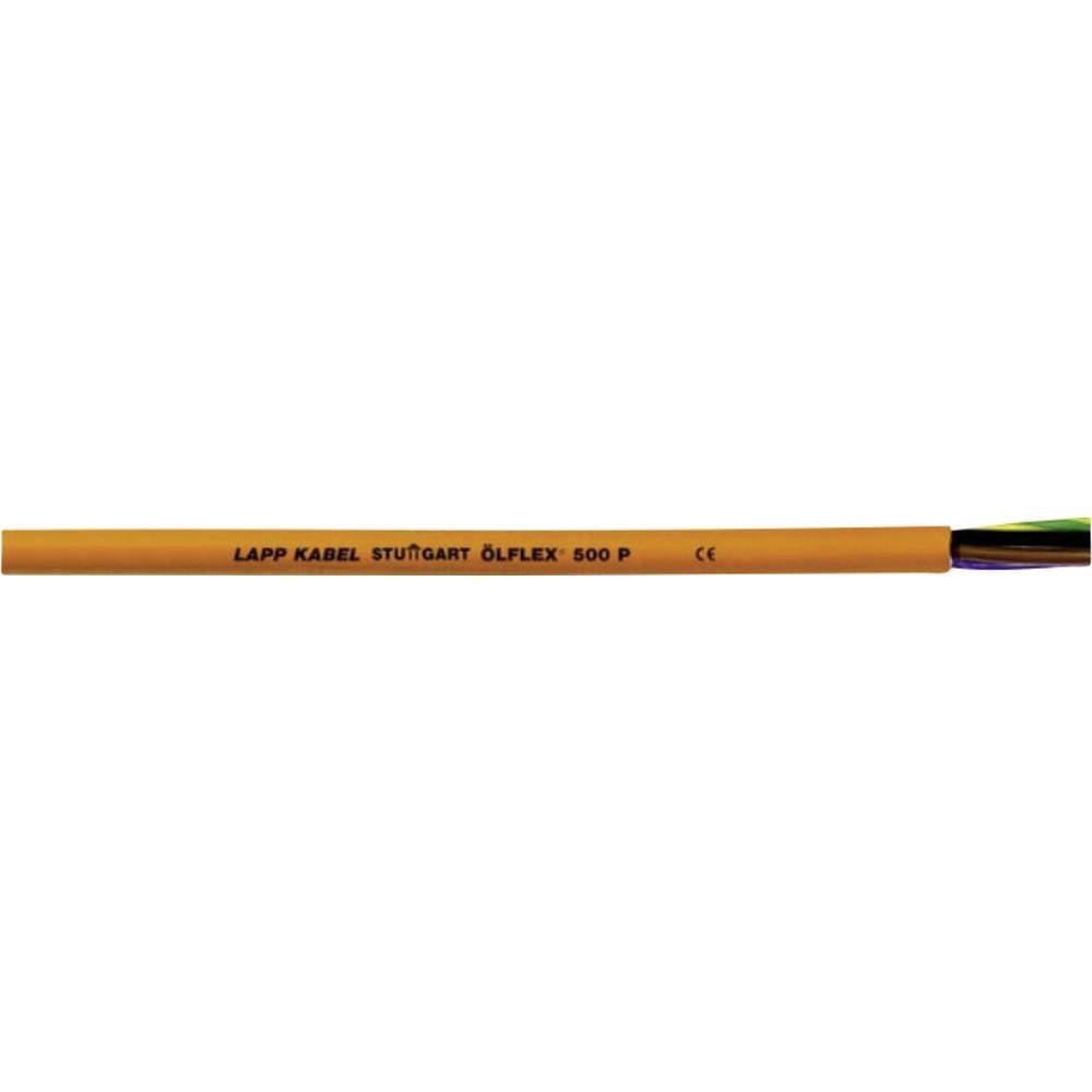 Priključni vodnik ÖLFLEX® 500 P 3 G 1 mm oranžne barve LappKabel 0012346 metrsko blago