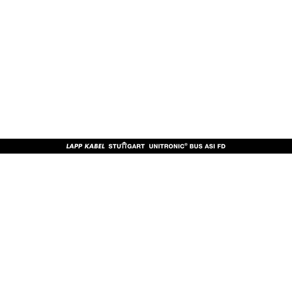 Busledning LappKabel UNITRONIC® BUS 2170831 2 x 1.50 mm² Sort 300 m