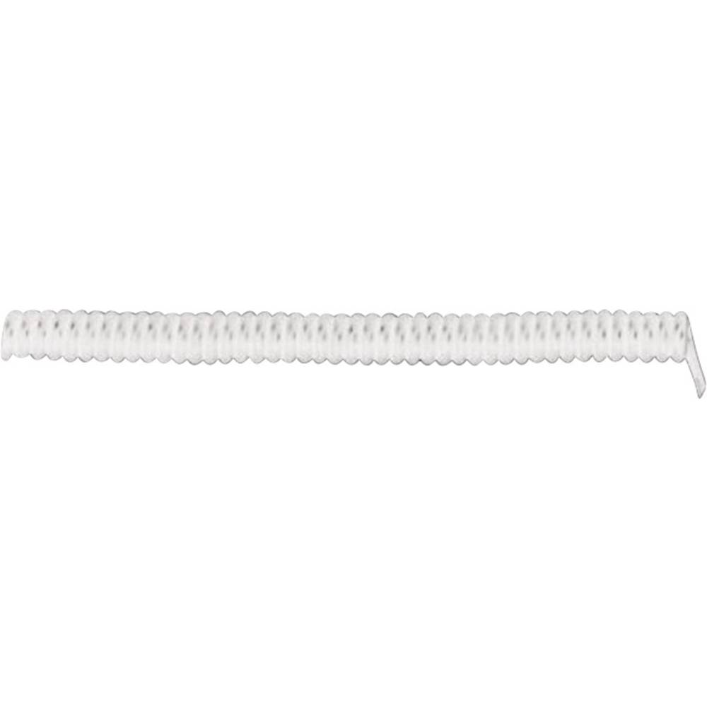 Spiralni kabel X05VVH8-F 300 mm / 900 mm 3 x 0.75 mm bijele boje LappKabel 73222362 1 kom.