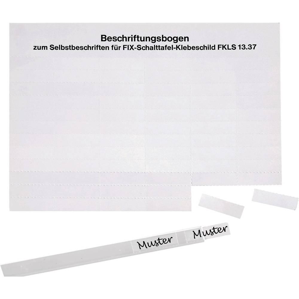 Etikete za označevanje kablov Fleximark 23 x 10.50 mm označevalno polje: bele barve LappKabel 61721820 FKLS1324 Anzahl Etiketten