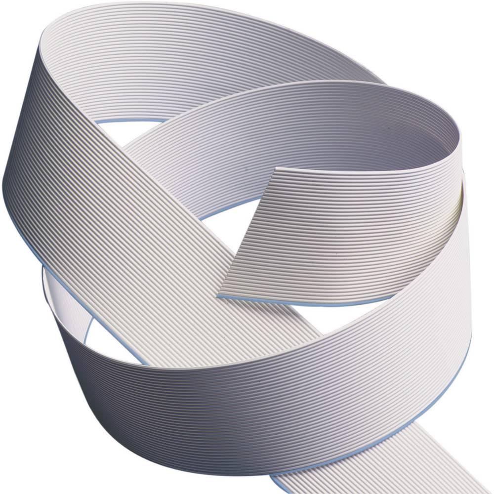 Ploščati kabel dimenzije: 1.27 mm 10 x 0.08 mm sive barve 3M 80-0012-4290-0 meterski