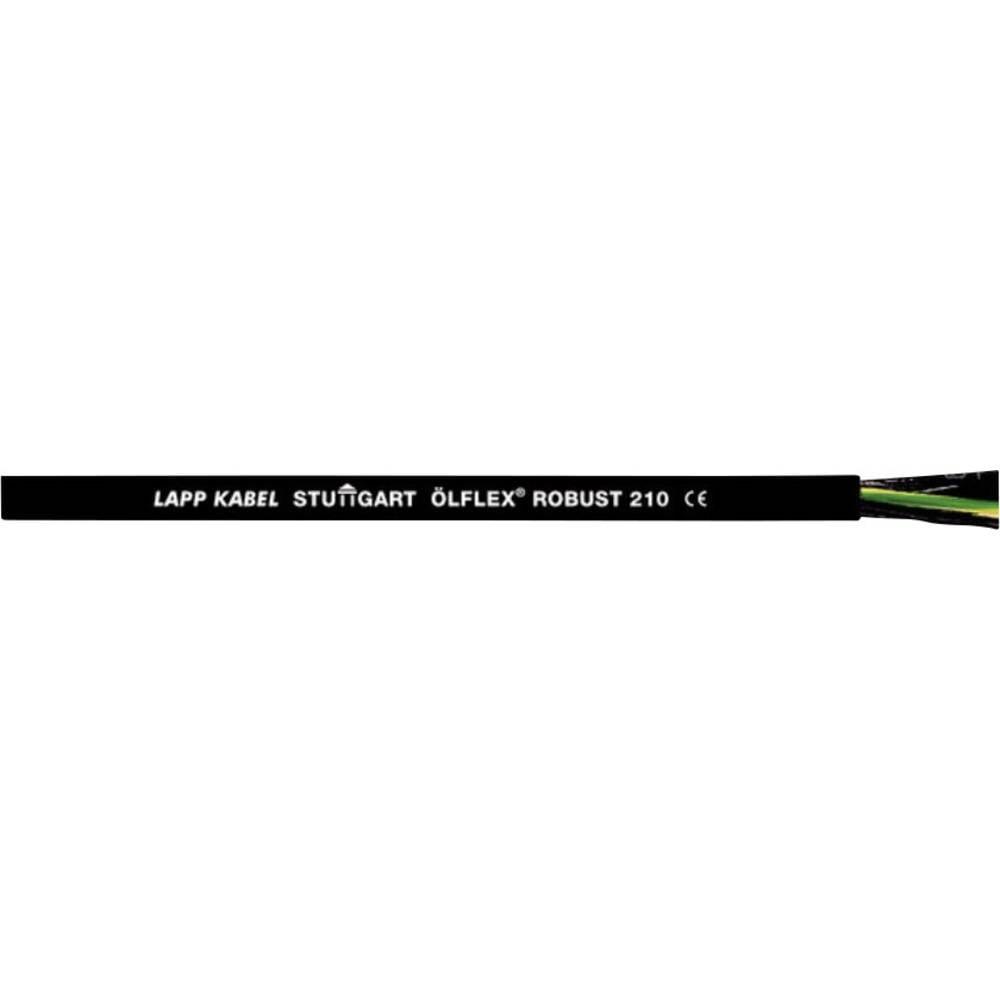 Krmilni kabel ÖLFLEX® ROBUST 210 5 G 1 mm črne barve LappKabel 0021918 meterski
