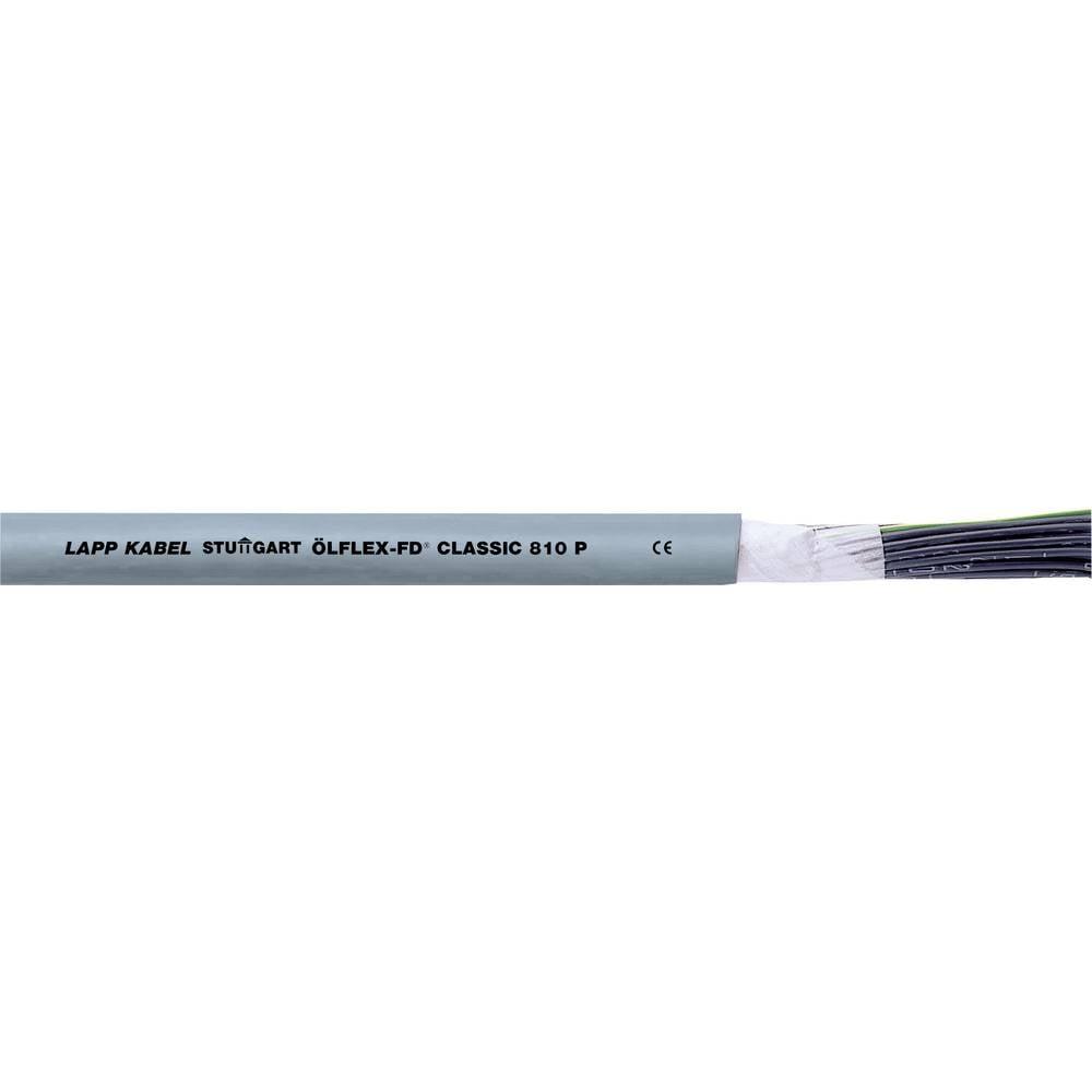 Energijski kabel ÖLFLEX® CLASSIC FD 810 P 2 x 1.5 mm sive barve LappKabel 0026349 50 m