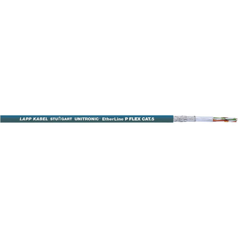 Mrežni kabel CAT 5e S/UTP 4 x 2 x 0.12 mm plave boje LappKabel 2170489 roba na metre