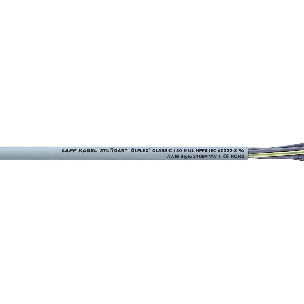 Krmilni kabel ÖLFLEX® CLASSIC 130 H 7 G 0.75 mm sive barve LappKabel 1123041 100 m