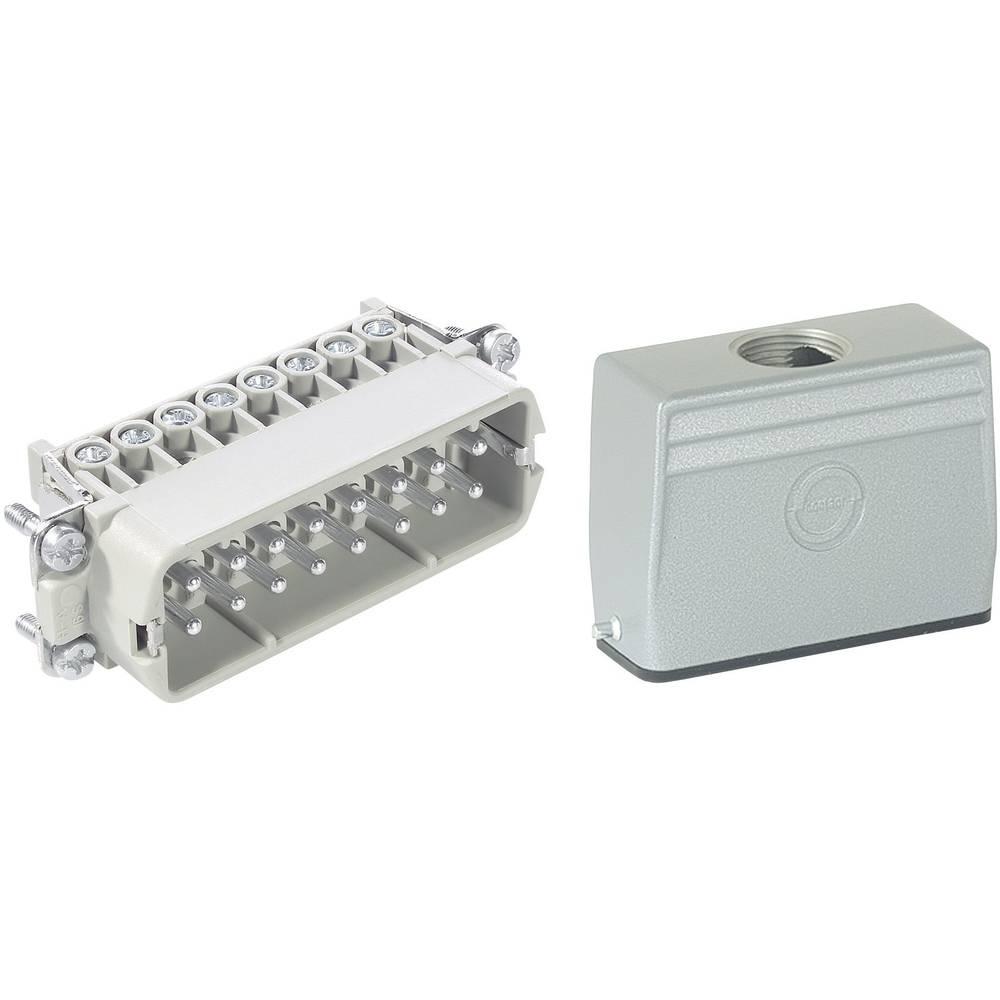 Stik-sæt LappKabel 16 + PE EPIC®KIT H-A 16 75009630 Skruer 1 Set
