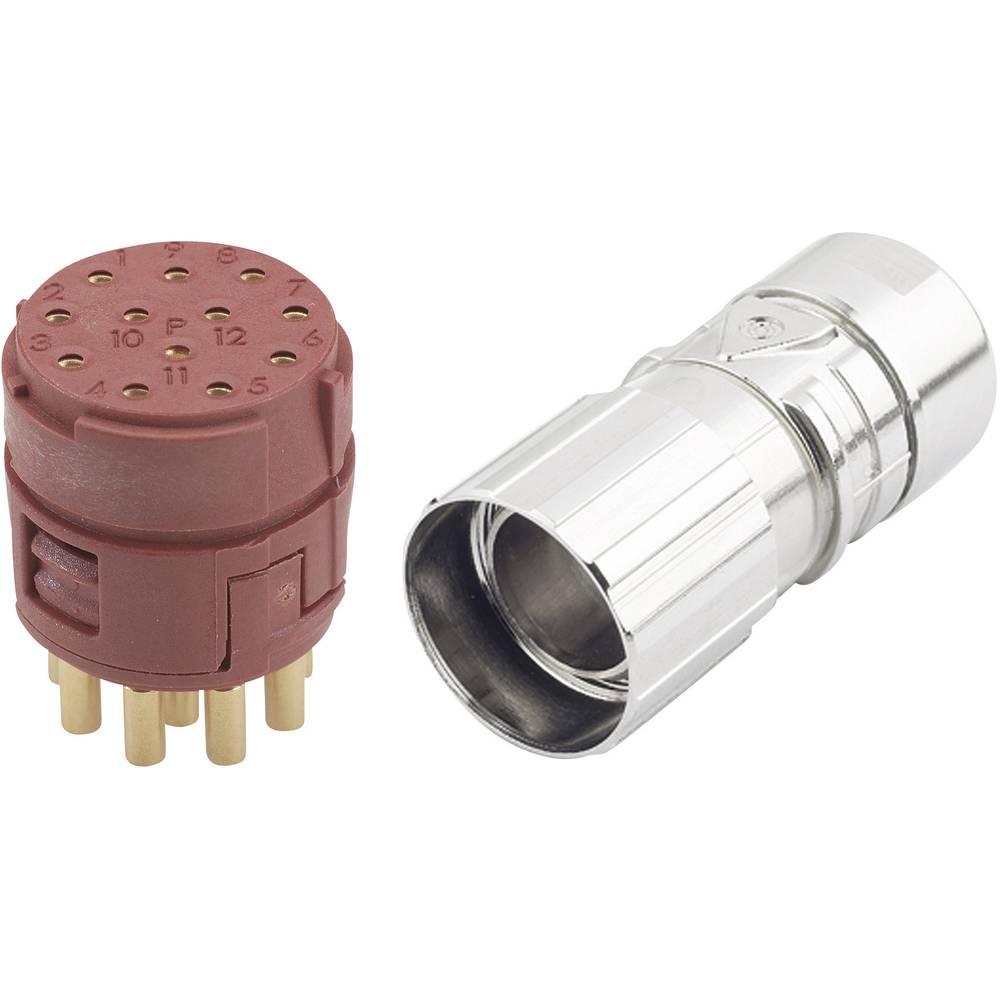 EPIC® konektor M23 12polni v kompletu EPIC® KIT M23 D6 12-POL FEMALE LappKabel vsebina: 1 komplet