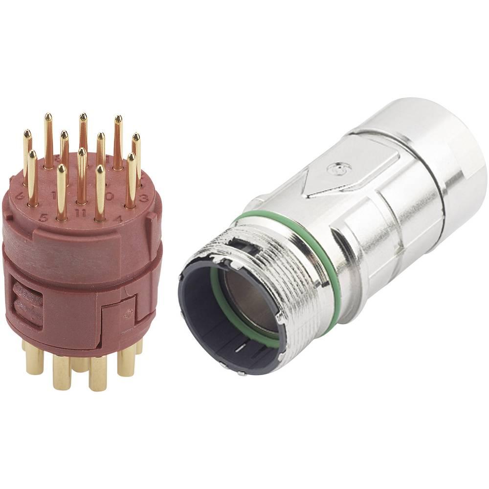 EPIC® stik M23 12 poler i kit LappKabel EPIC® KIT M23 F6 12-POL MALE 1 Set