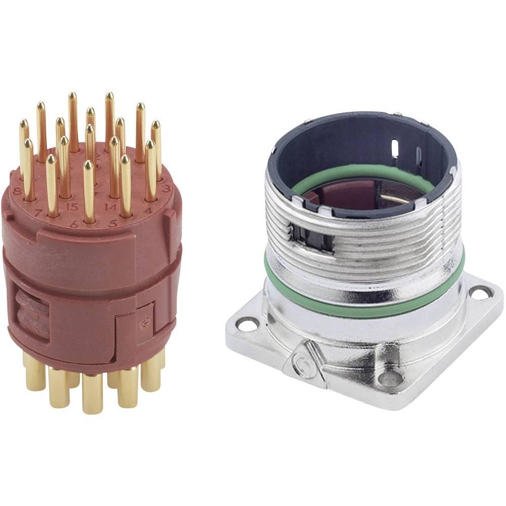 EPIC® stik M23 17pole Set LappKabel EPIC® KIT M23 A1 17-POL MALE 1 Set