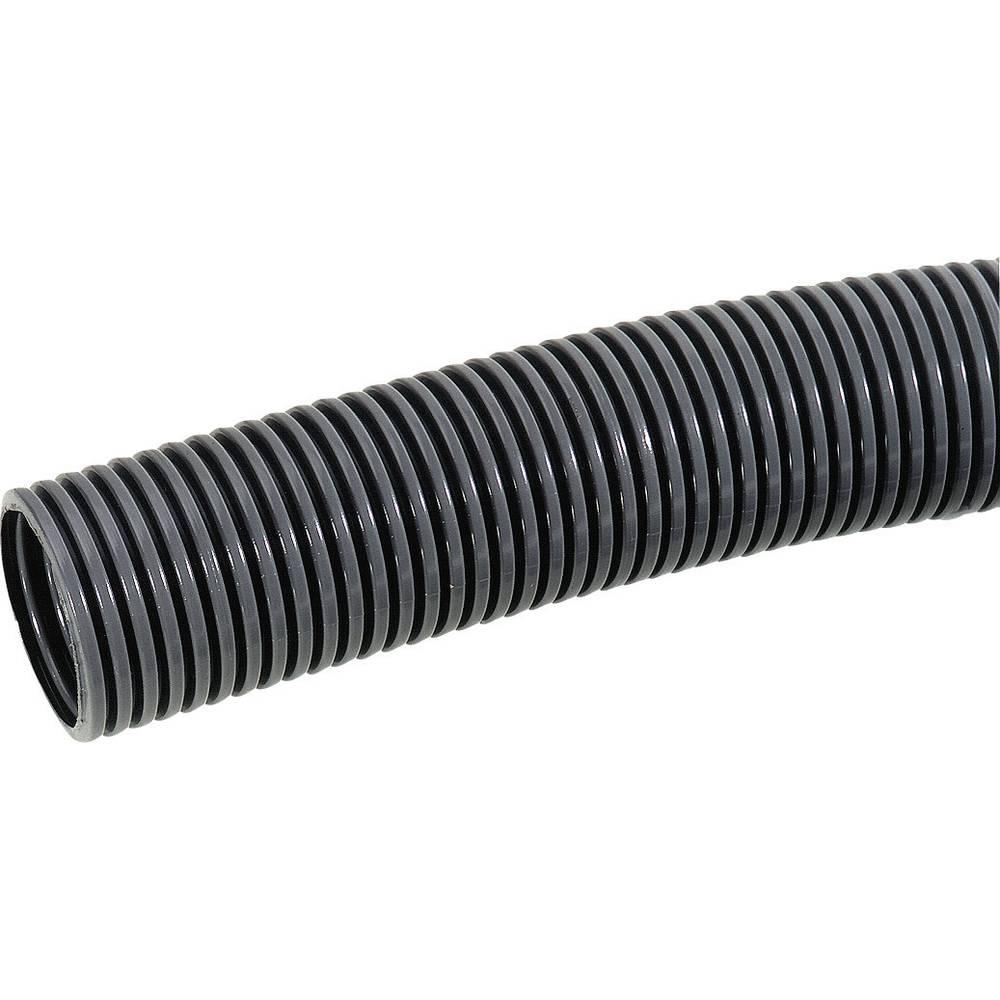 SILVYN® cev za zaščito kablov RILL PA6 LL SILVYN® RILL PA6 LL 29/16,5x21,2 BK LappKabel vsebuje: meterski snop