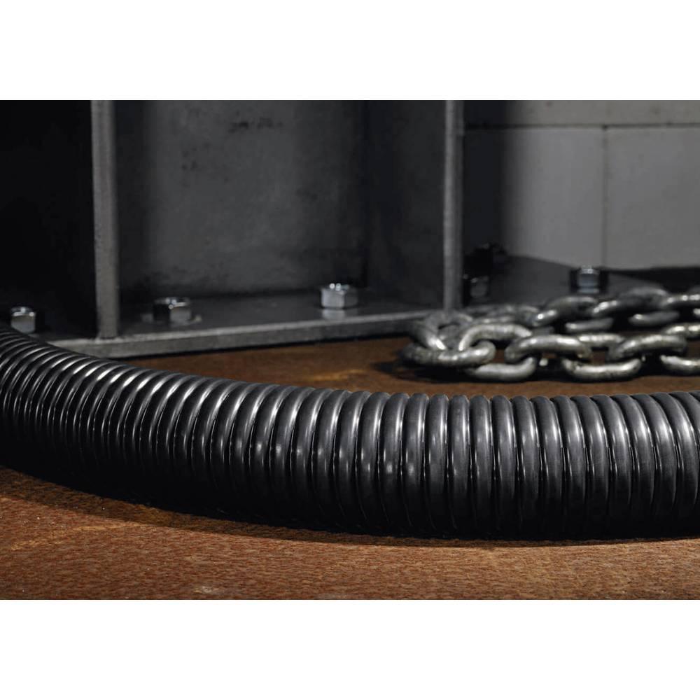 Fleksibilna cijev s metalnom zaštitom HelaGuard PCS, unutarnji O: 16.9 mm, crna, PCS20 166-30703 HellermannTyton