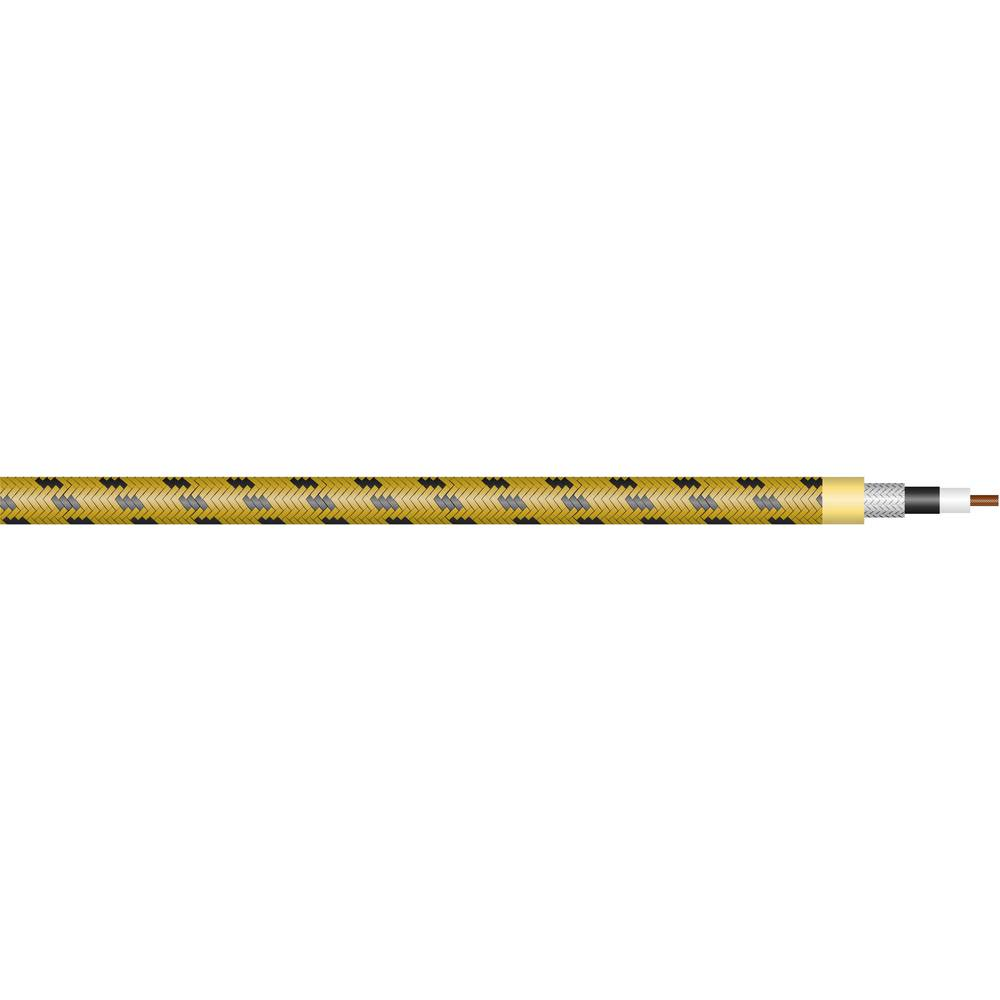 Sommer Cable-''SC-CLASSIQUE''-Kitarski kabel, 1x0.5mmË>, žut, crn, metarska roba 300-0107