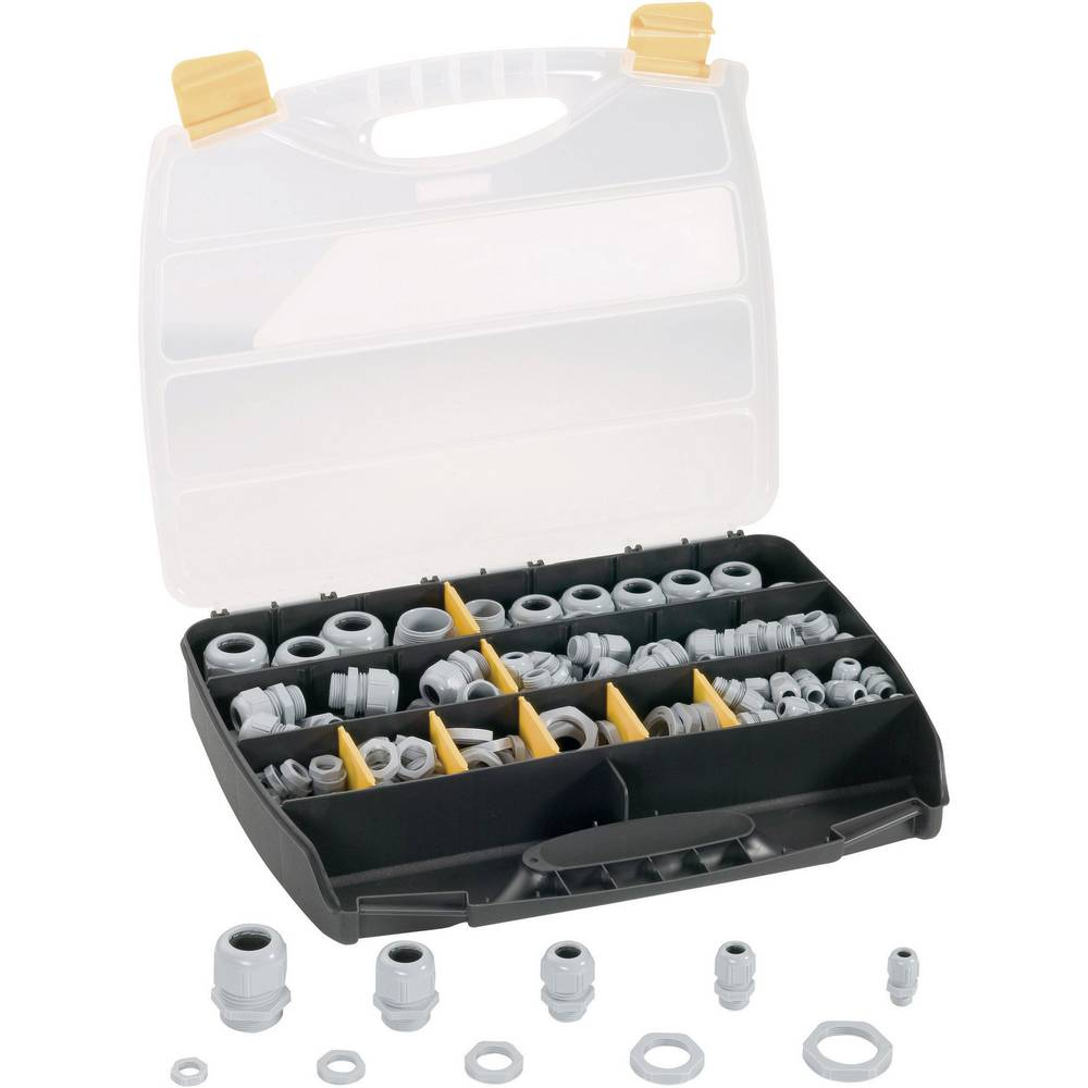 Kabelforskruning sortiment Polyamid 1 Set