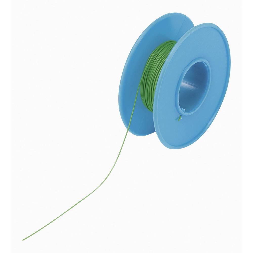 Vodnik za ovijanje Wire Wrap 1 x 0.20 mm zelene barve Conrad Components 93014c326 15 m