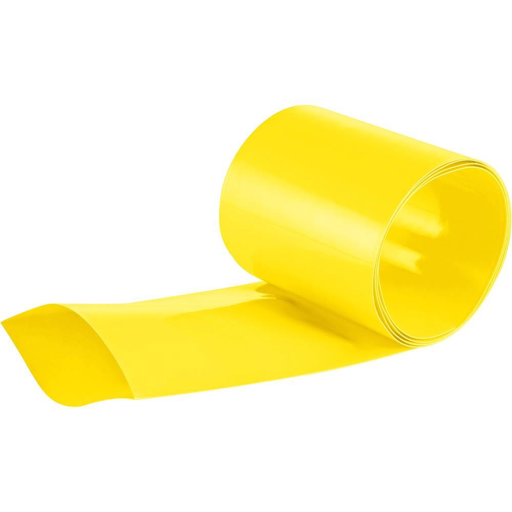 skupljajuća cijev za akumulatorske baterije v traki 2 : 1, žuta, roba na metar DSG Canusa 1612508100
