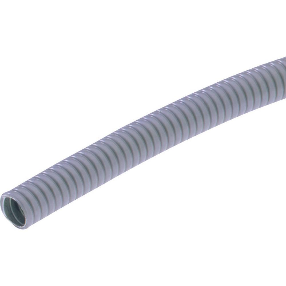 SILVYN® kovinska zaščitna cev AS SILVYN® AS-P 11/13x17 10m GY LappKabel vsebuje: meterski snop