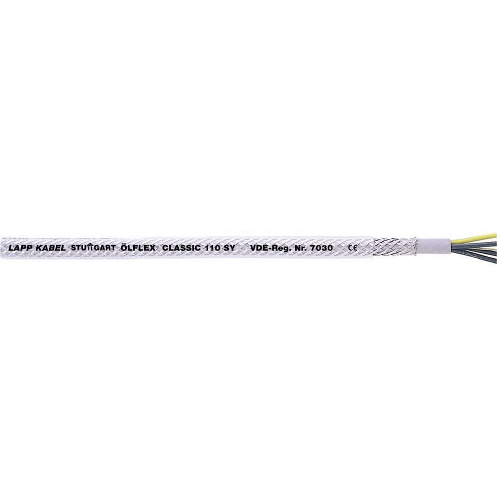Krmilni kabel ÖLFLEX® CLASSIC 110 SY 7 G 1.5 mm sive barve, transparentne barvene barve LappKabel 1125307 50 m