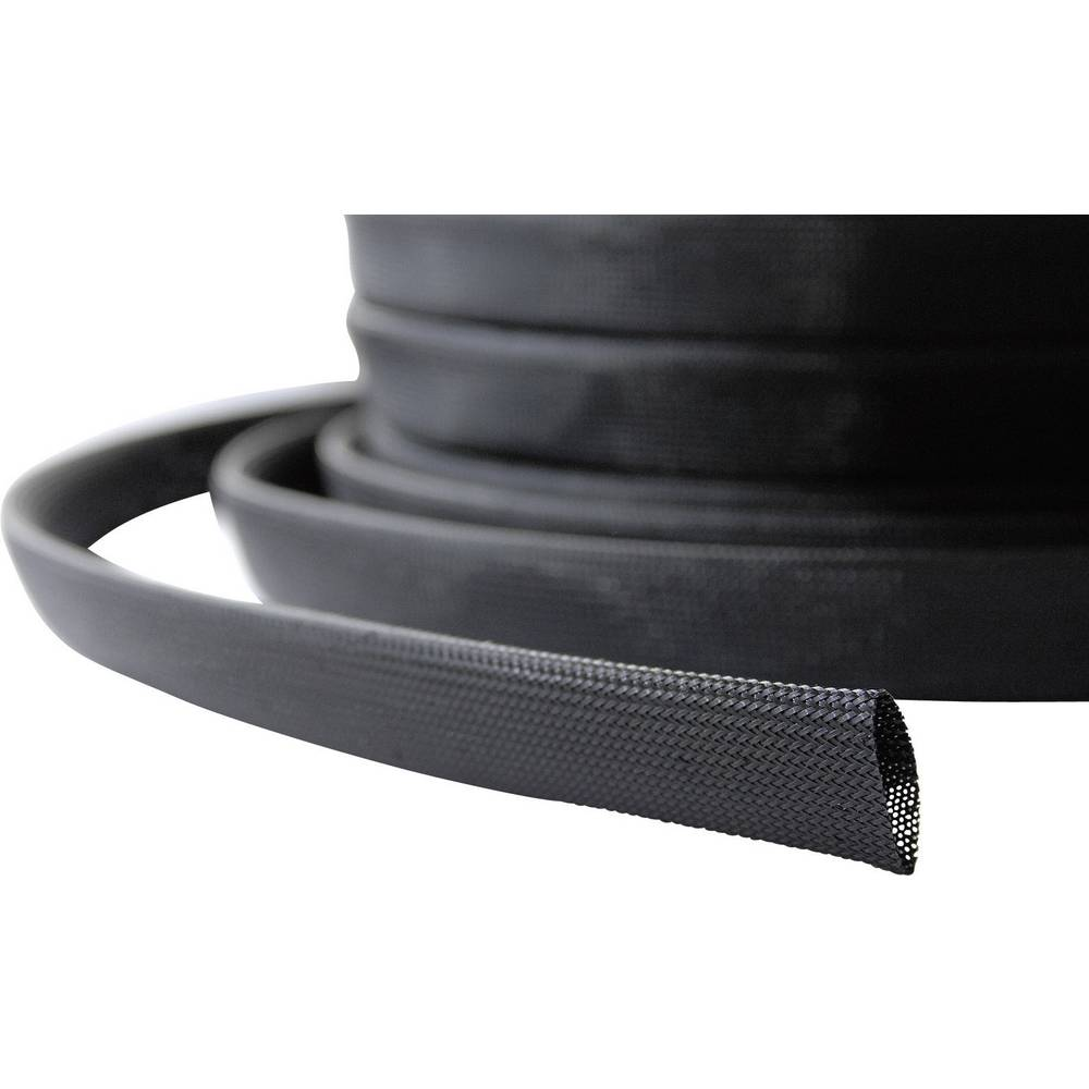 Pletena cev LappKabel Silvyn Braid PA6 NW 12, premer: 10-14mm, črne barve 61721261