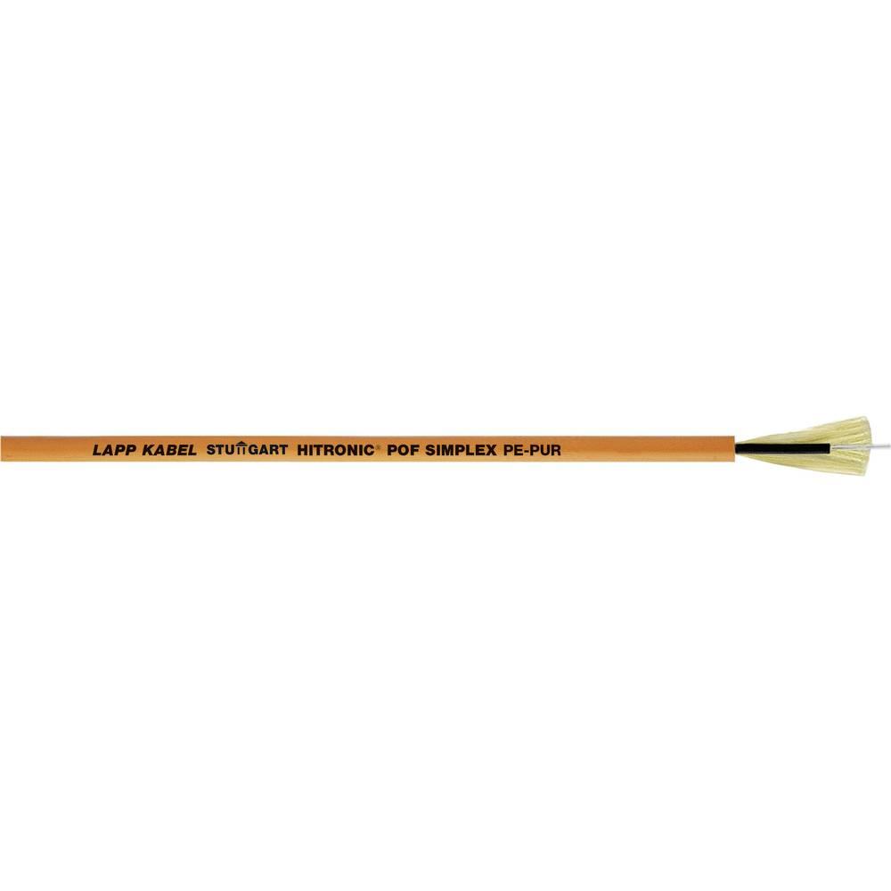 POF optični kabel HITRONIC® POF 980/1000µ Simplex oranžna LappKabel 28020001 metersko blago