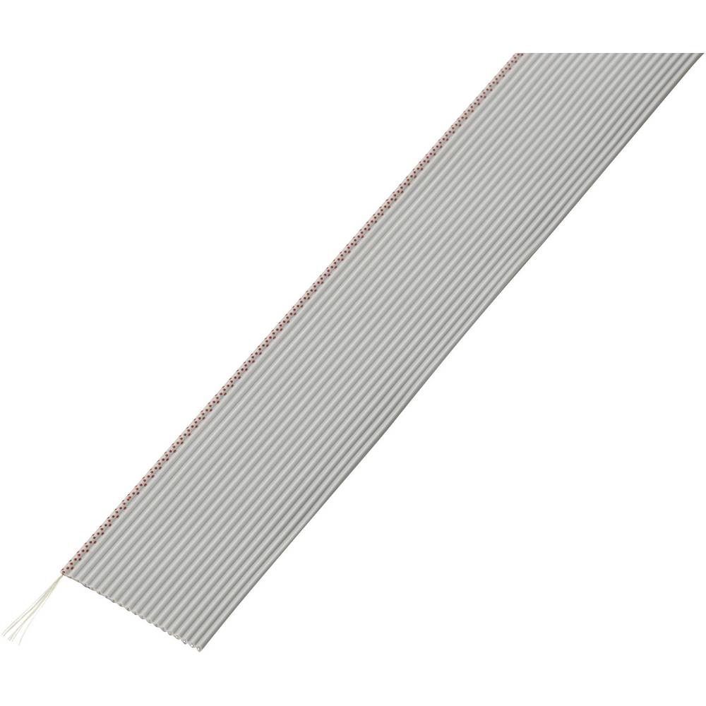 Pljosnati kabel dimenzije: 1.27 mm 20 x 0.035 mm sive boje Conrad Components SH1998C201 30.5 m