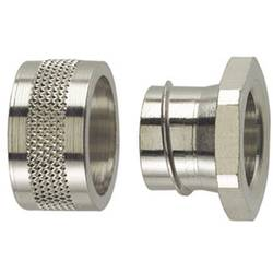 Zaključna spojka -metalna 48.40 mm - ravna HellermannTyton 166-30507 SC50-PC 1 komad