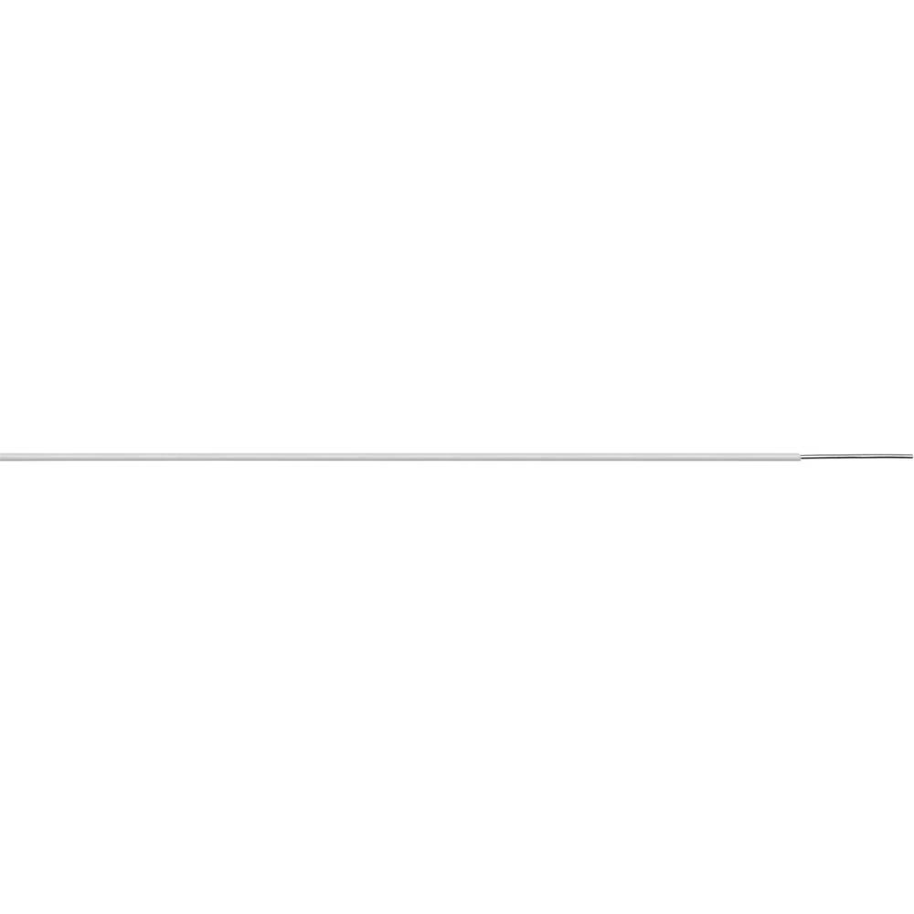 Žica za zvonec 1 x 0.8 mm bele barve, rjave barve LappKabel 49900276 meterski