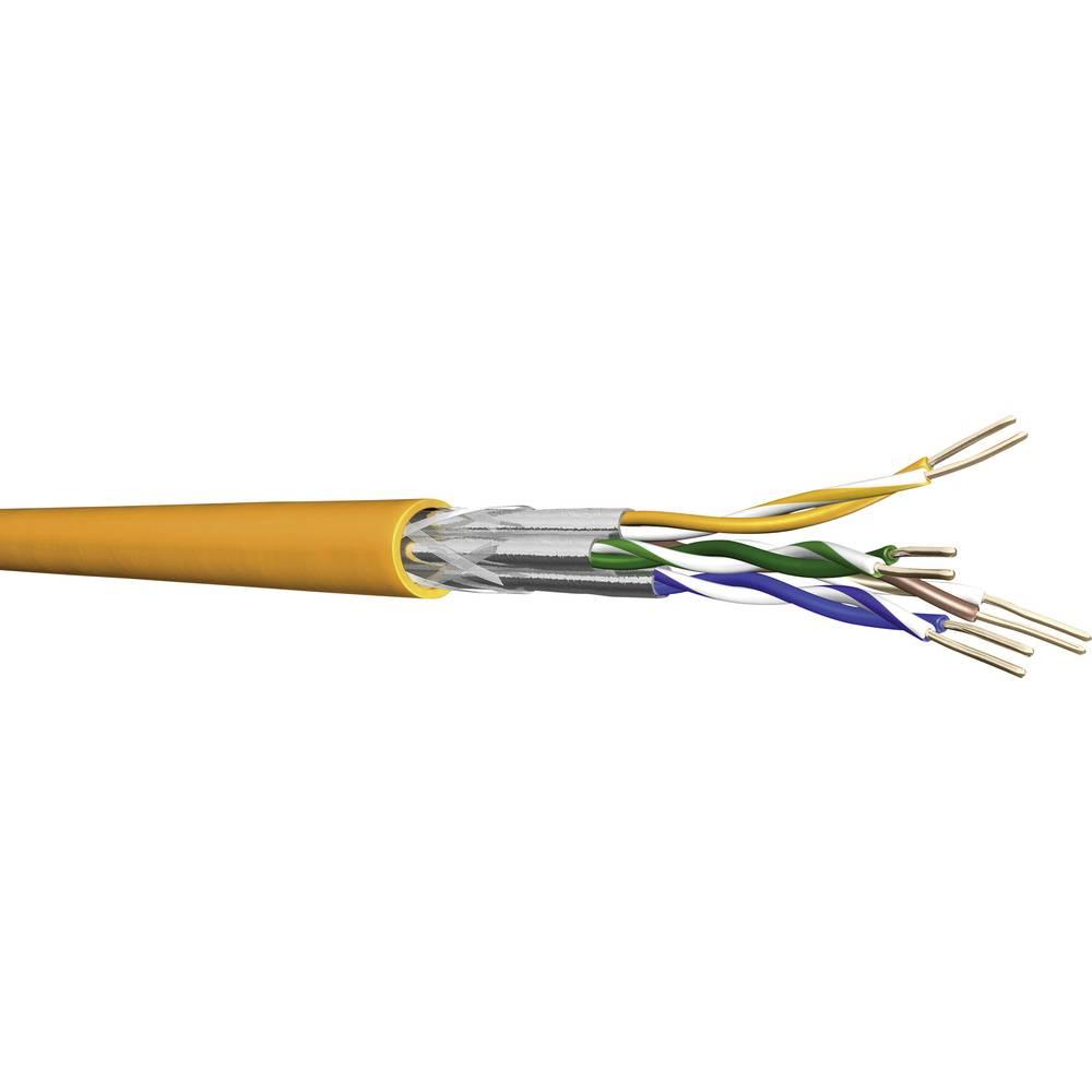 S/FTP priključni i spojni kabel UC900 HS23 DRAKA Cat.7 4 x 2 x 0.56 mm narančasta roba na metre
