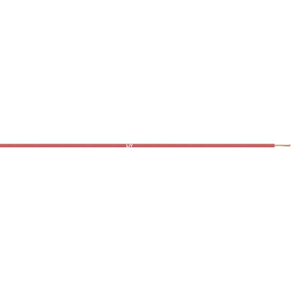 Flätad kabel LiY 1 x 0.14 mm² Orange LappKabel 4125009S Metervara