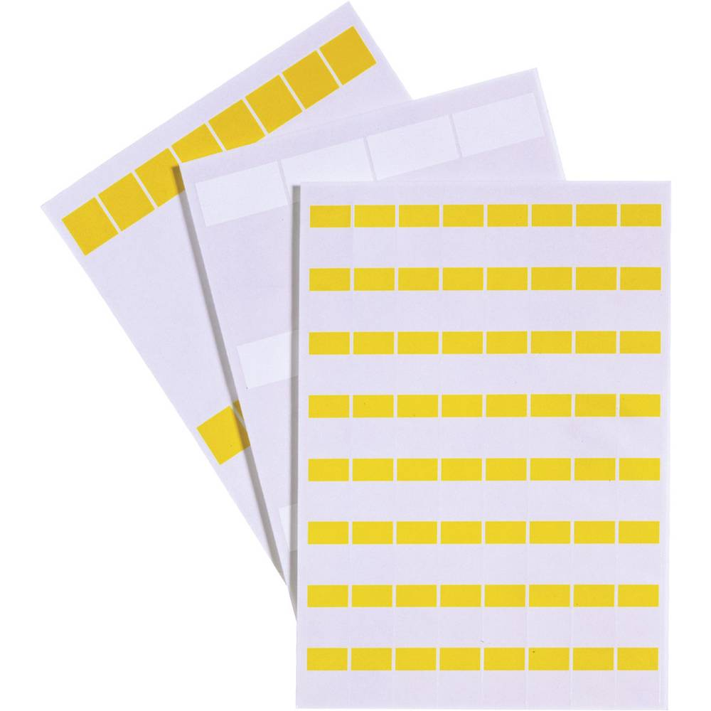 Etikete za označevanje kablov Fleximark 25 x 19 mm označevalno polje: rumene barve LappKabel 83256144 LCK-35 YE Anzahl Etiketten