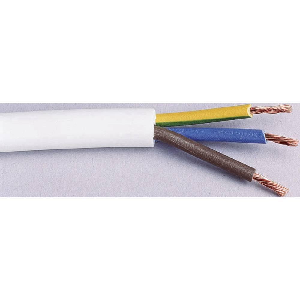 Gumirani vodnik H05VV-F 3 G 1 mm bele barve LappKabel 49900076 20 m